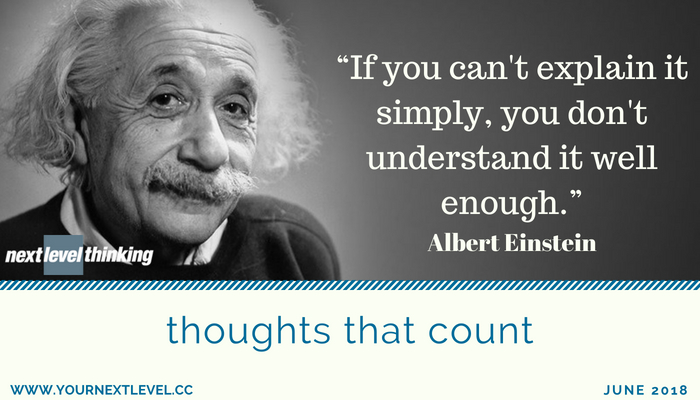 Simplify: Albert Einstein